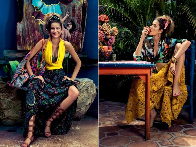 Tons de amarelo ajudam a iluminar o look (Foto: Eduardo Rezende - Edição de moda: Larissa Lucchese)