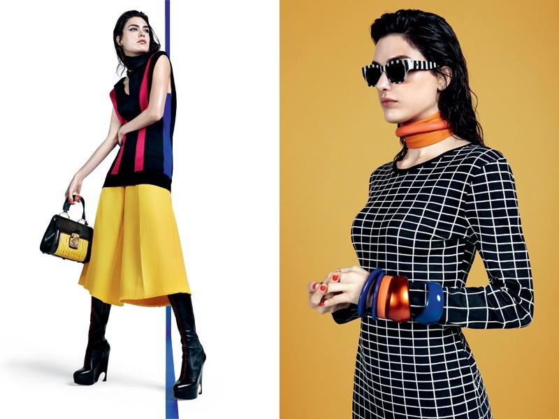 Os acessórios também exercem um papel fundamental quando o assunto é acrescentar cor (Foto: Gil Inoue (Agência AN) - Edição de moda: Larissa Lucchese)