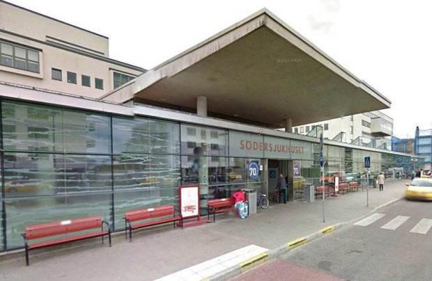 A clínica de Södersjukhuset, em Estocolmo, que autoridades suecas acreditam ser o primeiro local a inaugurar um serviço de atendimento a homens vítimas de violência sexual (Foto: Reprodução / Google Maps)