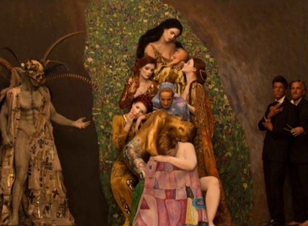 A intensa Death and Life, de Klimt (Foto: Reprodução Sytle Bible)