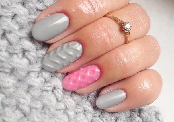 Como toda nail art incrível, essa técnica exige tempo pra ser realizada (Foto: Reprodução Instagram @wloszka_italiana)