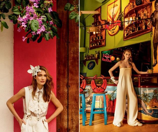 Até a alfaiataria ganha aspecto mais sofisticado no all white (Foto: Fernando Louza / Edição de moda: Paulo Martinez (SD MGMT))