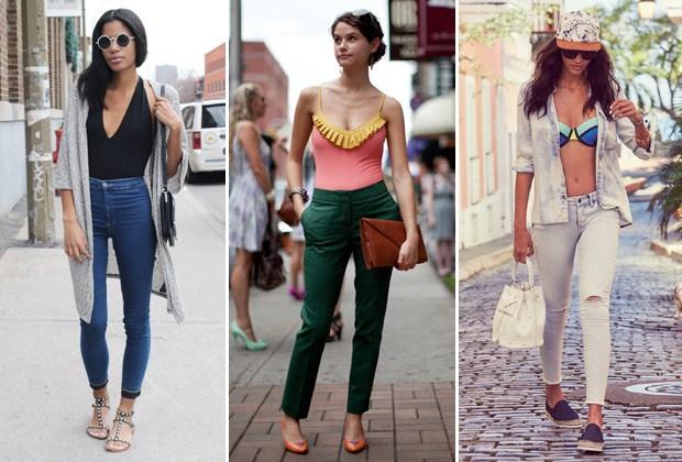 Os biquínis e maiôs podem dar cara nova também ao seu jeans (Foto: Reprodução Instagram/Imaxtree)
