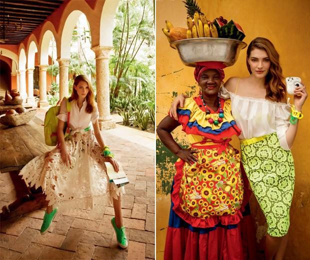 Nos acessórios ou nas roupas, o fluo vai fazer a diferença (Foto: Fernando Louza / Edição de moda: Paulo Martinez (SD MGMT))