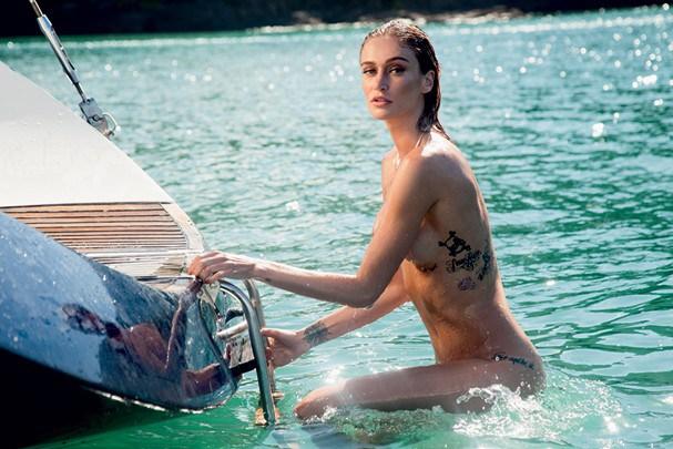 Vivi Orth em foto pra Playboy (Foto: Divulgação)