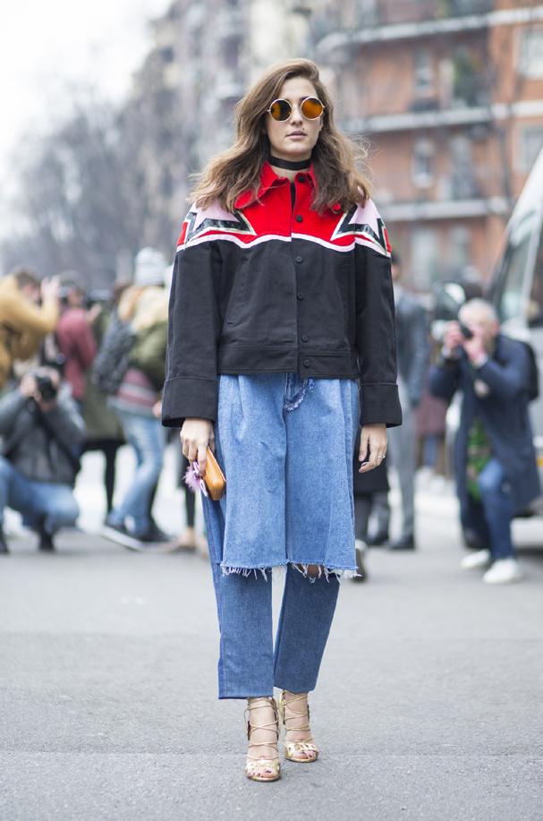 Jeans rasgado que imita bermuda é tendência! (Foto: Agência Fotosite)