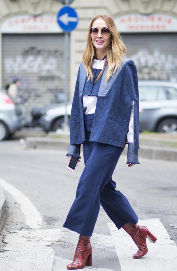 Patchwork, tendência dos anos 60 e 70, também voltou firme e forte na moda jeans (Foto: Agência Fotosite)