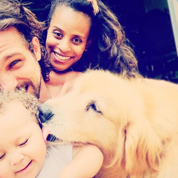 Igor Rickli mostra seu momento paizão em foto no Instagram