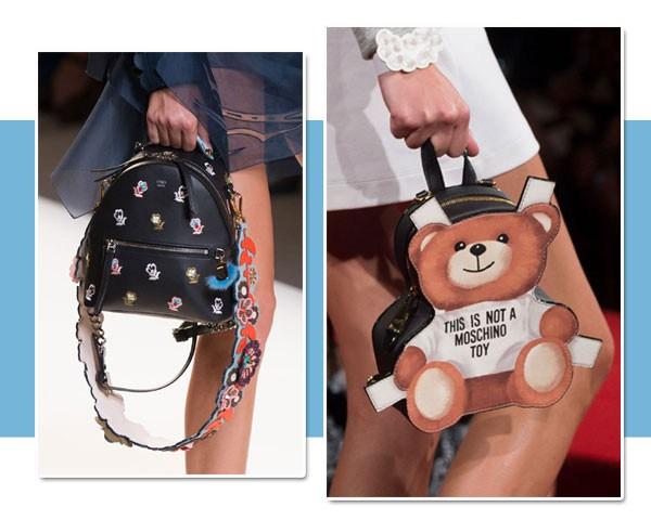 Mini bags roubam a cena na MFW e se destacam como tendência da temporada