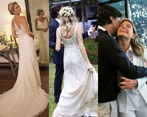 Vestido de noiva agora não é mais único e, sim, vários!