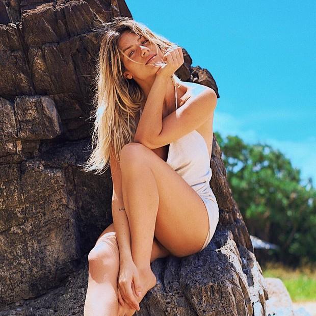 Giovanna Ewbank curte sol em Fernando de Noronha (Foto: Reprodução Instagram)