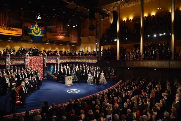 Cerimônia do Prêmio Nobel em Estocolmo (Foto: Getty Images)