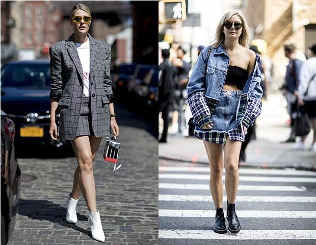 Com shorts e saias, é uma combinação incrível tanto para o verão, quanto para o inverno (Foto: Imaxtree)