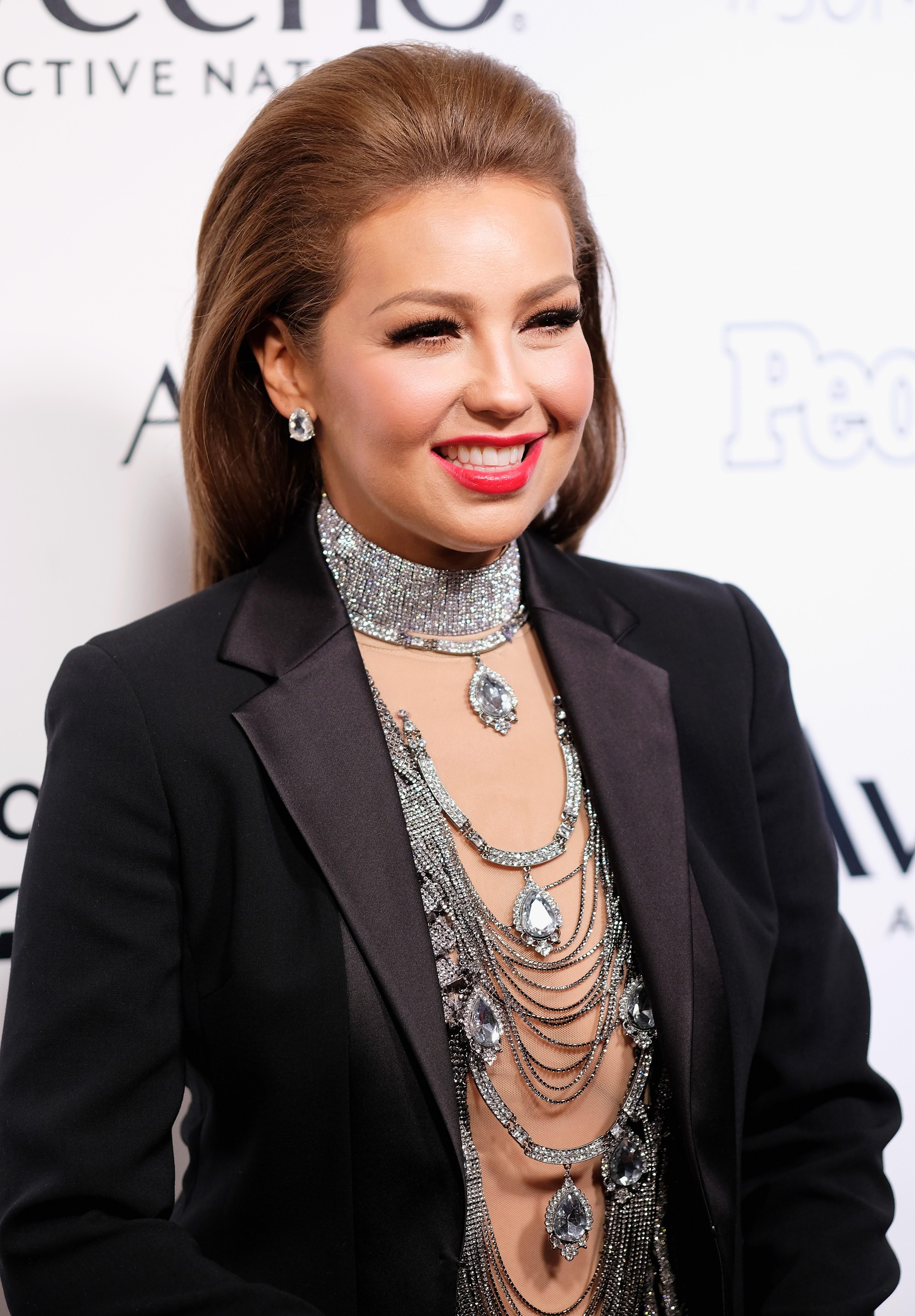 Cantora mexicana Thalia quer virar série de TV (Foto: Getty Images)