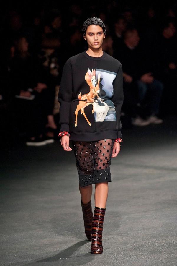 Givenchy - inverno 2013 (Foto: Imaxtree)