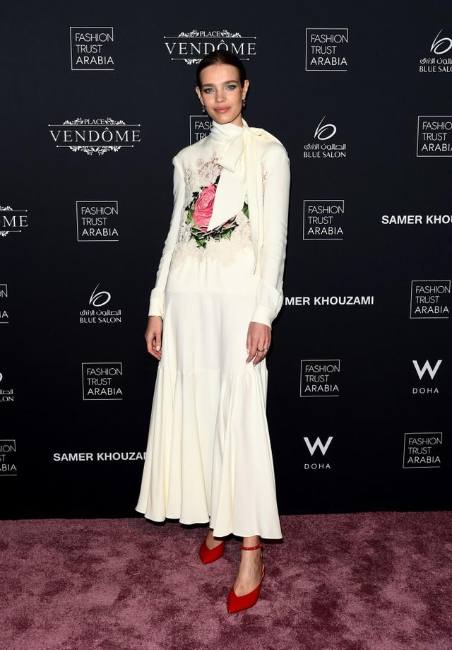 Natalia Vodianova no Prêmio Fashion Trust Arabia (Foto: Getty Images)