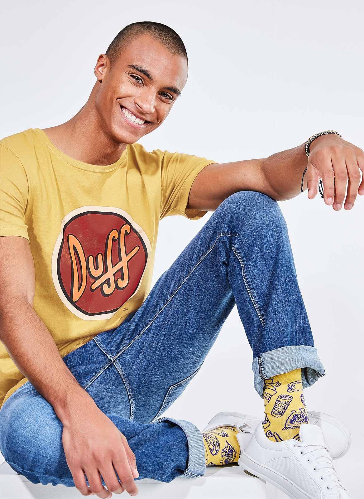 Camiseta Duff Amarela R$59,90 (Foto: Divulgação)