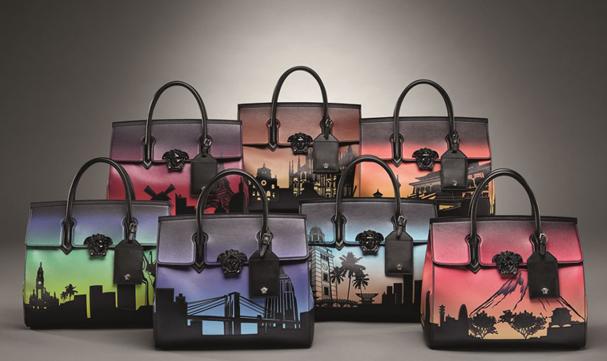 Projeto 7 bolsas 7 cidades da Versace (Foto: Divulgação)