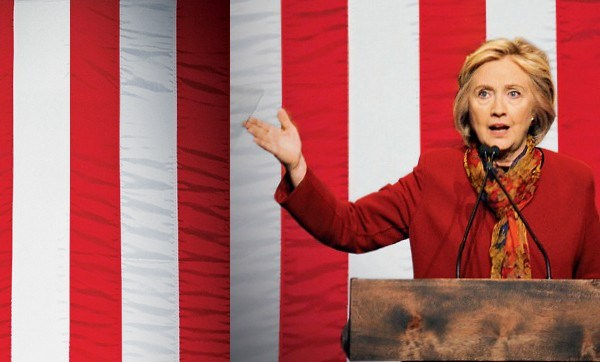 A candidata Hillary Clinton (Foto: Future-Image / Getty Images)