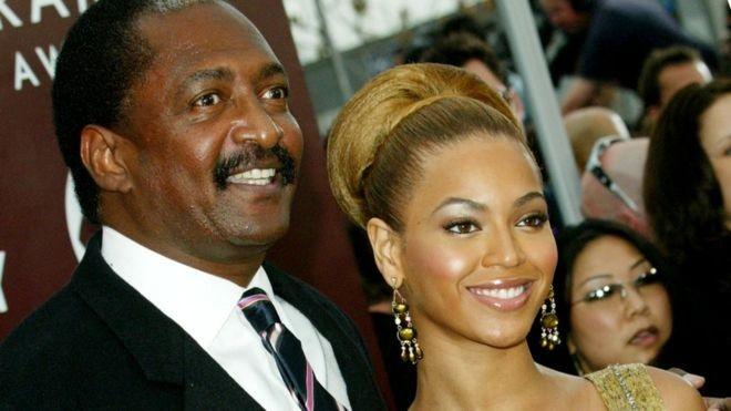 Mathew Knowles e Beyoncé (Foto: Reprodução)
