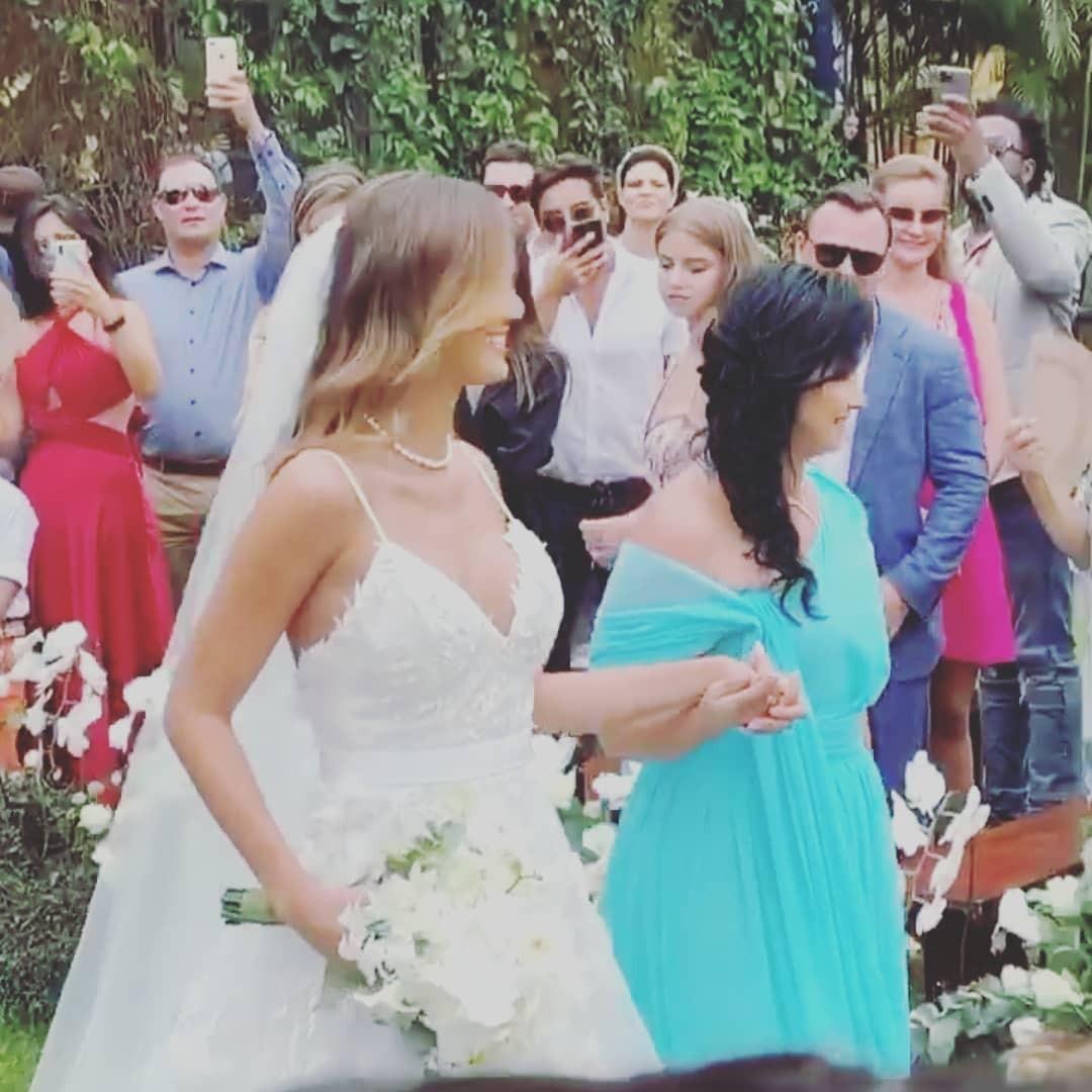 Biamca Rodrigues no casamento com Sorocaba (Foto: Reprodução Instagram)