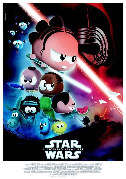 Star Wars e Turma da Mônica (Foto: Divulgação)