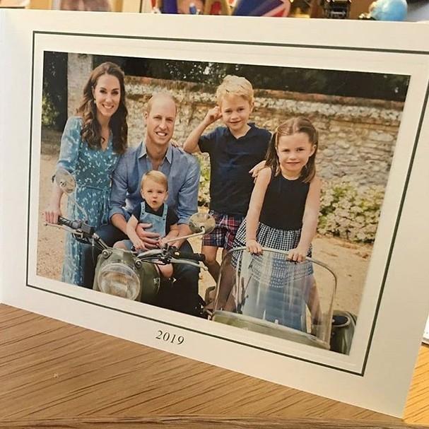 Família Real Britânica (Foto: Reprodução / Instagram)