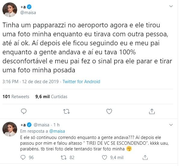 Maisa Silva (Foto: Instagram)
